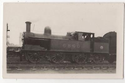 LMS Railway Locomotive No. 6890 Vintage RP Postcard 813b
