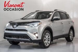 2017 Toyota RAV4 AWD+LIMITED+JBL+CUIR+TOIT+SIEGES CHAUFFANTS NO