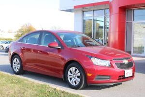 2014 Chevrolet Cruze 1LT ONE OWNER LOCAL TRADE !