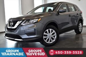 2017 Nissan Rogue 2.5L AWD S CAMERA DE RECULE BLUETOOTH ONLY 8,1