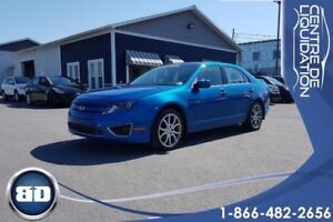 2012 Ford Fusion SEL, AWD, CUIR, TOIT. CLIMATISATION BI-ZONE
