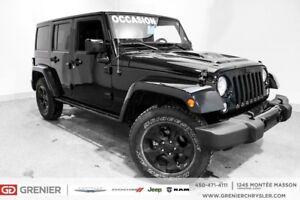 2015 Jeep Wrangler 8PNEUS+2 TOIT+CUIR+NAV+SAHARA 8 PNEUS+2 TOIT+