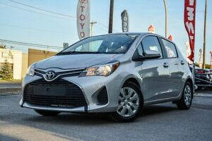 2015 Toyota Yaris LE, POWER GROUP, AC, BLUETOOTH, CERTIFIED TOYO