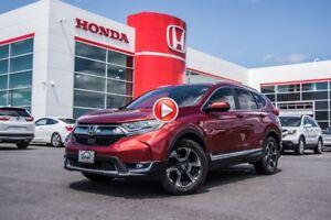 2017 Honda CR-V TOURING 2017 + GARANTIE COMPLÈTE DU MANUFACTURIE