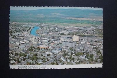 784) FAIRBANKS ALASKA, CITY OFFICE BLDGS, HOTELS, RIVER BRIDGE, CHURCH, (River City Stores)