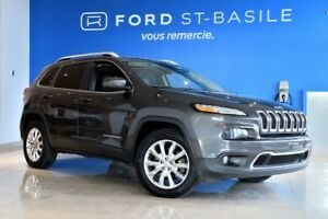2015 Jeep Cherokee LIMITED / AWD Tow pakage