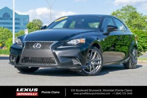 2016 Lexus IS 300 F-SPORT 2,GPS,AWD NEW FRONT BRAKES,NEW TIRES,F