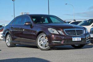 2013 Mercedes-Benz E-Class W212 MY12 E350 BlueEFFICIENCY 7G-Tronic + Elegance Brown 7 Speed