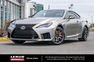 2020 Lexus RC F V8, PERFORMANCE PACKAGE RARE UNIT, LUXURY AND PE