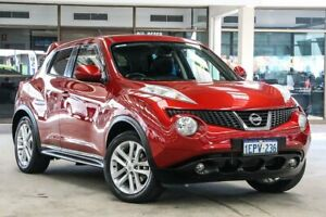 2014 Nissan Juke F15 TI-S (AWD) Dark Red Continuous Variable Wagon