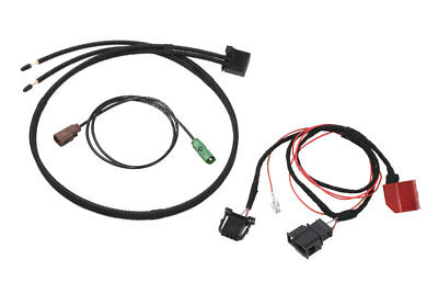 Original Kufatec Cable Loom Plug for TV Tuner with Mmi 2G for Audi Q7 4L