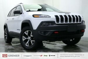 2017 Jeep Cherokee TRAILHAWK+4X4+HITCH+V6 TRAILHAWK+4X4+HITCH+V6
