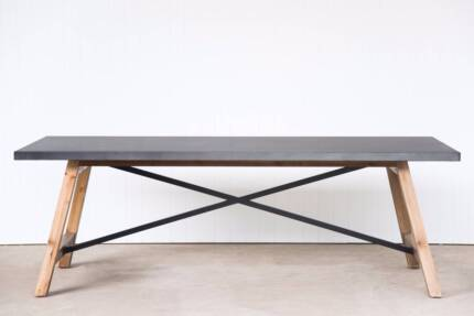 Railway Style Dining Table