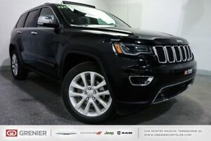 2017 Jeep Grand Cherokee Limited+TOIT PANO+DVD+XÉNON Limited+TOI