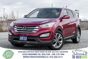 2013 Hyundai Santa Fe NAVIGATION LIMITED LEATHER SUNROOF CAMERA