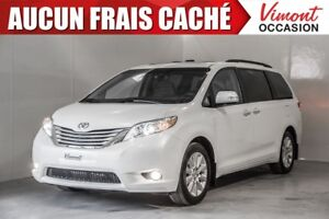 2014 Toyota Sienna 2014+AWD+LIMITED+NAV+CUIR+CAMERA RECUL+7 PASS