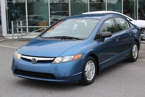 2008 Honda Civic DX-G*AUTO*4 PORTES*AC*CRUISE*GR ELEC*CD MP3*AUX