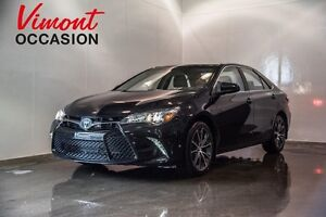 2016 Toyota Camry XSE GPS MAGS 17 po NEVER ACCIDENTED