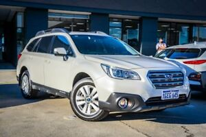 2016 Subaru Outback B6A MY16 2.0D CVT AWD White 7 Speed Constant Variable Wagon Myaree Melville Area Preview