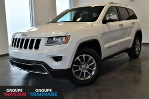 2016 Jeep Grand Cherokee LIMITED + CUIR+TOIT PANO LIMITED  LEATH