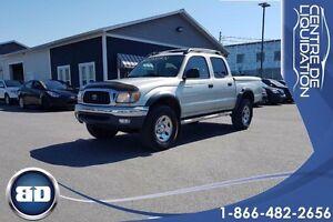 2002 Toyota Tacoma CREW CAB EXTRA PROPRE !