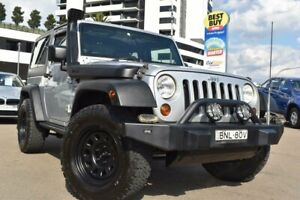 2009 Jeep Wrangler JK Sport Softtop 2dr Man 6sp 4x4 3.8i [MY10] Silver Manual Softtop