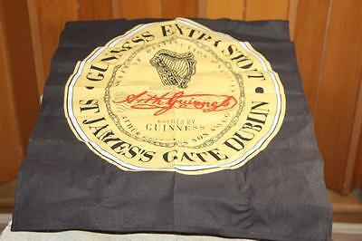 """GUINNESS Beer Extra Stout  St James Cloth Bar Towel 16"""" x 23"""""""