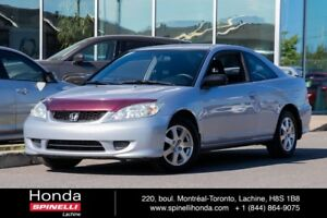 2004 Honda Civic Coupe LX MANUAL AC COUPE MANUAL SOLD AS IS