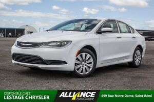 2016 Chrysler 200 LX | 9 vitesses