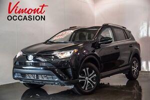 2017 Toyota RAV4 LE AWD SIÈGES CHAUFFANT CAMERA DE RECUL LOW MIL