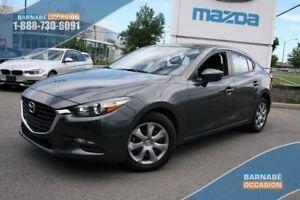 2017 Mazda Mazda3 ***GX CAMERA DE RECUL+A/C+BLUETOOTH***
