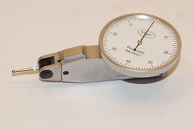 Nos Premium Quality Mahr Puppitast Germany Dial Test Indicator. 0.0001 Grad.