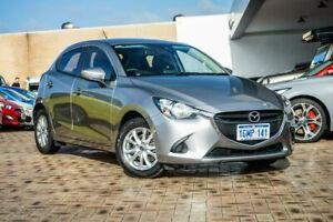 2018 Mazda 2 DJ2HAA Maxx SKYACTIV-Drive Silver 6 Speed Sports Automatic Hatchback
