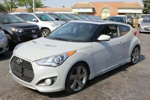 2013 Hyundai Veloster Turbo Pano Rood Leather Navi