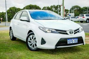 2014 Toyota Corolla ZRE182R Ascent S-CVT White 7 Speed Constant Variable Hatchback Wangara Wanneroo Area Preview