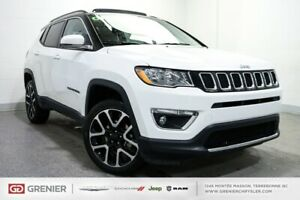 2018 Jeep Compass LIMITED+4X4+TOIT PANO+CUIR LIMITED+4X4+TOIT PA