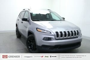 2014 Jeep Cherokee SPORT+TEMPS FROID+CAMÉRA SPORT+TEMPS FROID+CA