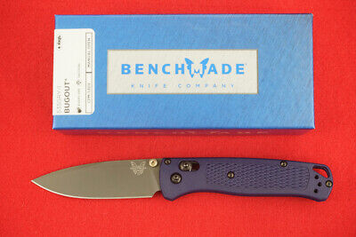 BENCHMADE 535GRY-1 BUGOUT KNIFE CPM-S30V DARK BLUE HANDLES PVD COATED BLADE, NEW