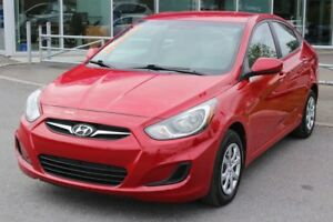 2013 Hyundai Accent L*BERLINE*MANUELLE 6 VITESSES*CD MP3*USB*AUX