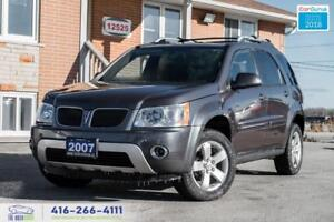 2007 Pontiac Torrent 1 OWNER NO ACCIDENTS SUNROOF ALLOYS CLEAN