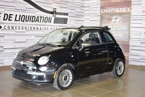 2012 Fiat 500 DECAPOTABLE+CUIR+GPS+MAGS