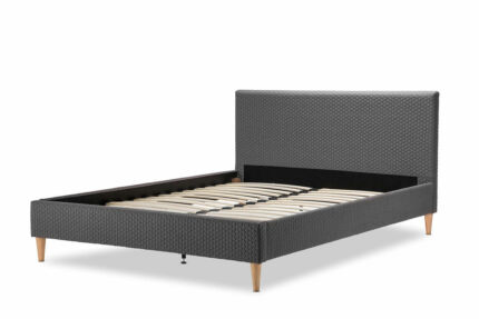Quality Fabric Upholstered Bed Frame Queen Size