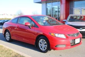 2012 Honda Civic LX LOW, LOW PAYMENTS!!