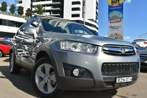 2011 Holden Captiva CG Series II 7 CX Wagon 7st 5dr Spts Auto 6sp AWD 3.0i [Mar] Grey