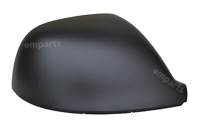VW T5 T51 Transporter Black Door Wing Mirror Cover 2010  2015 Right Driver OS