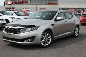 2013 Kia Optima EX TURBO PLUS **Toit Ouvrant**Cuir Gris**
