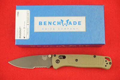BENCHMADE 535SGRY-1 BUGOUT CPM-S30V AXIS LOCK, GRAY PVD COATED BLADE KNIFE NEW