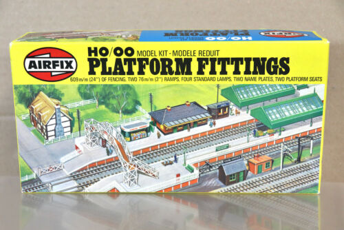 AIRFIX 3607 HO OO GAUGE STATION PLATFORM FITTINGS MODEL RAILWAY KIT nz