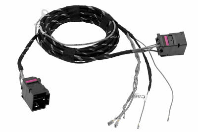 Original Kufatec Cable Loom Elec. Seat Adjustment for Seat Leon 5F Skoda Superb
