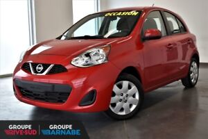2015 Nissan Micra SV CERTIFIED NISSAN CANADA